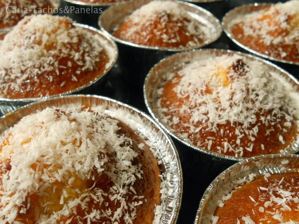 receita de queques de coco