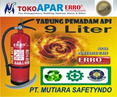 Alat Pemadam Api 9 Liter Foam AFFF