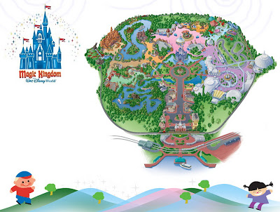 map of magic kingdom