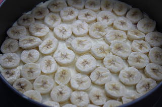 bananas, layer, whipped cream, banana pudding icebox cake