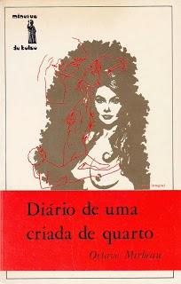 """Traduction portugaise du """"Journal d'une femme de chambre"""", 1970"""