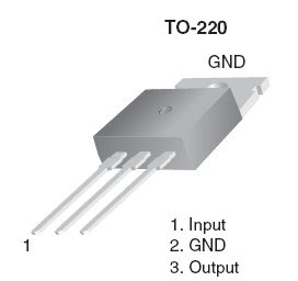 Regulator 5 volt using IC 7805