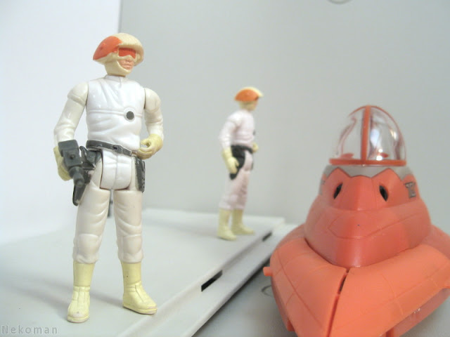 Kenner Cloud Car Pilot Vintage ESB Empire Strikes Back Star Wars Hasbro Concept Cloud Car Bespin Cloud City Lando