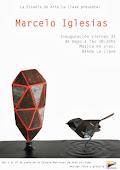 Marcelo Iglesias expone esculturas
