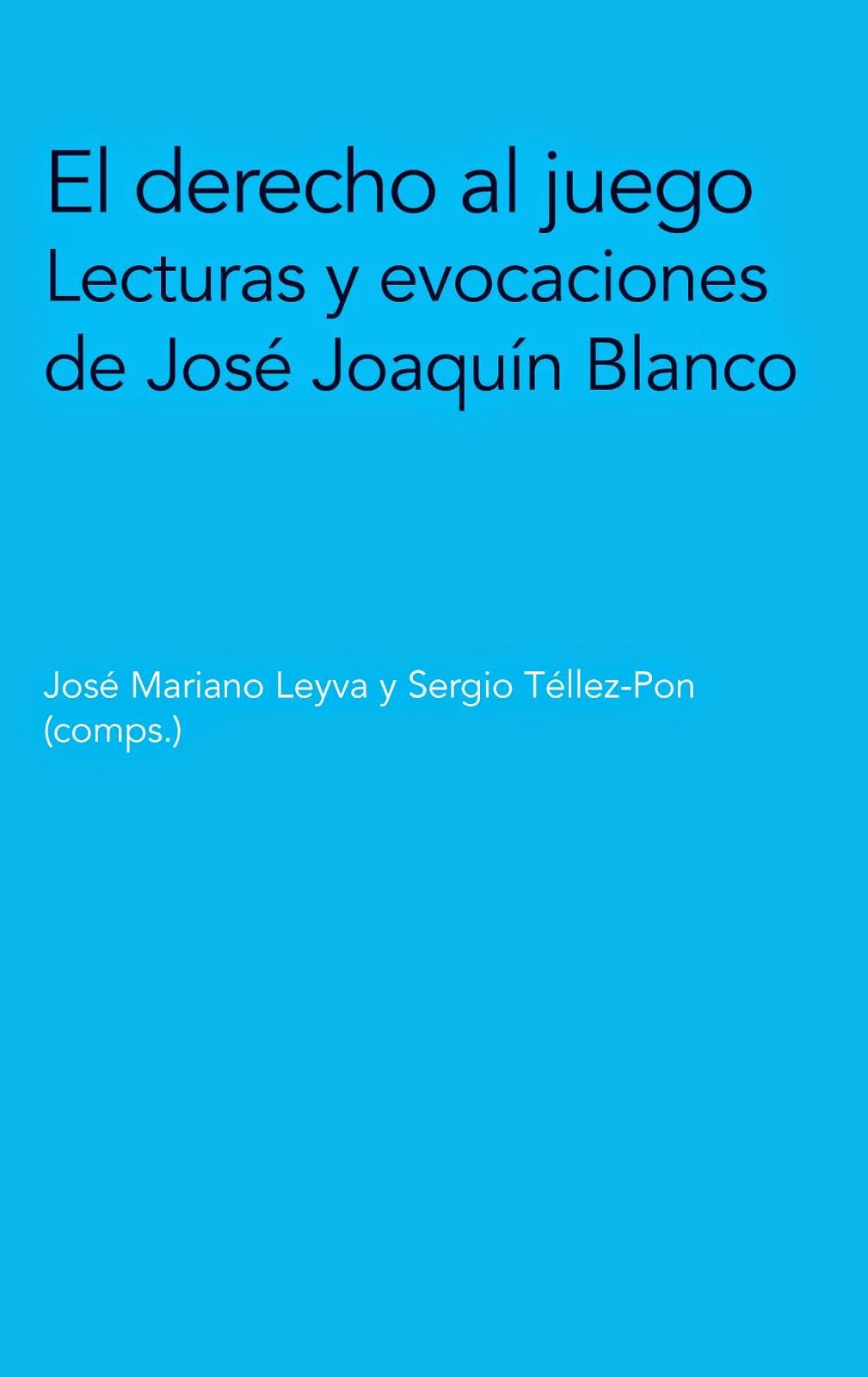 JOSÉ MARIANO LEYVA Y SERGIO TÉLLEZ PON: EL DERECHO AL JUEGO