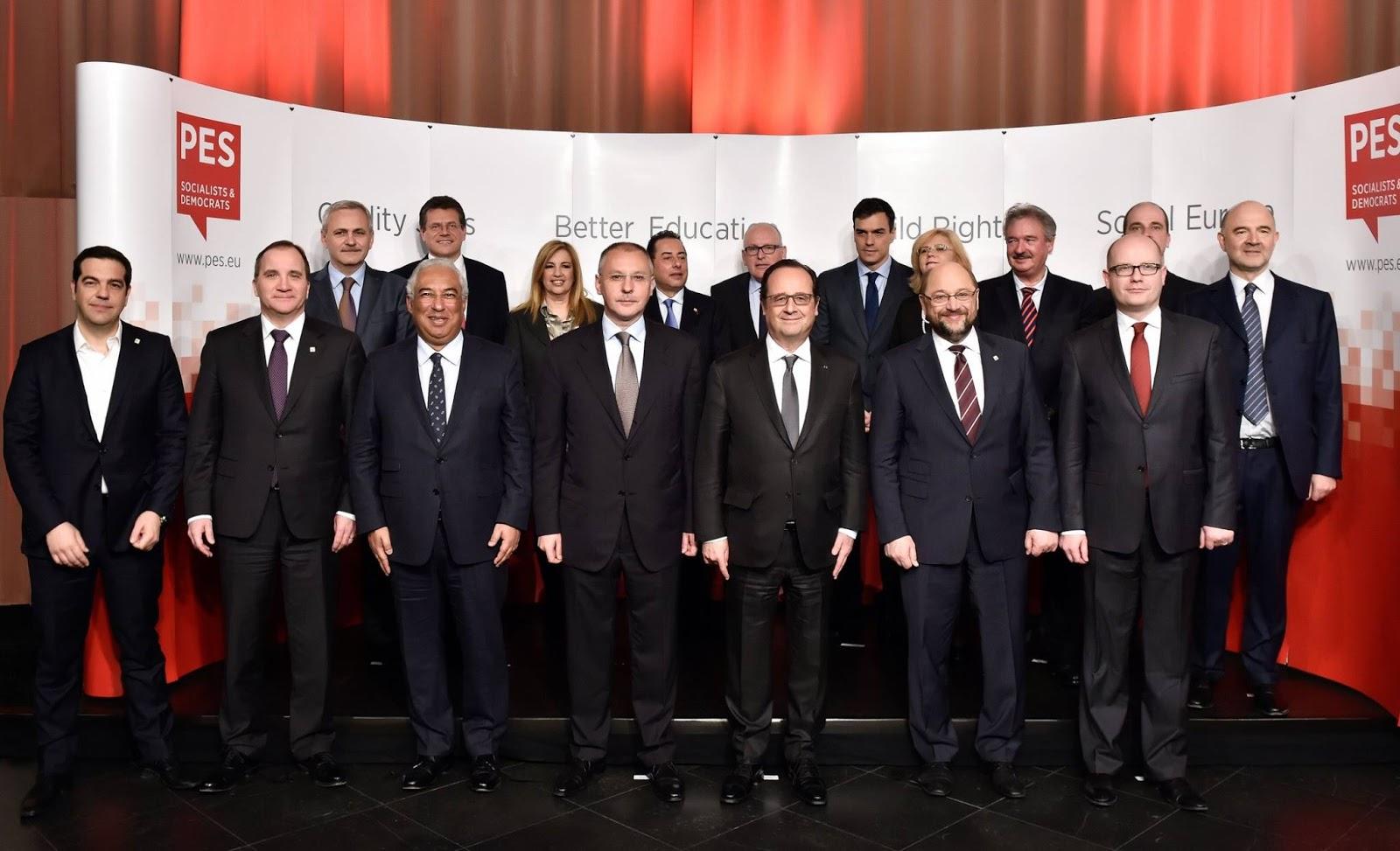 2012 - Ο Δραγασάκης, ο Ράϊχενμπαχ, ο Τσίπρας, η Σοσιαλιστική Ευρωομάδα ...