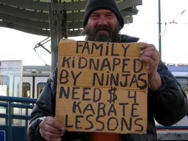the unlucky homeless