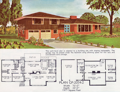 A sample floor plan. [Credit: 1962 Georgia Pacific by Ethan.]