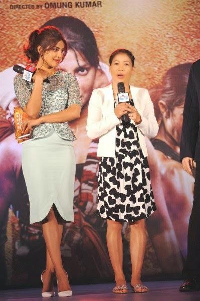 Priyanka Chopra and Mary Kom