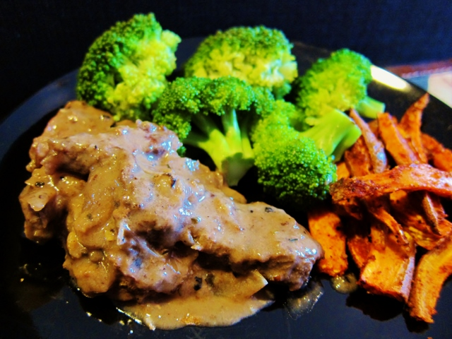Braised Steak au Poivre from Nomsies Kitchen