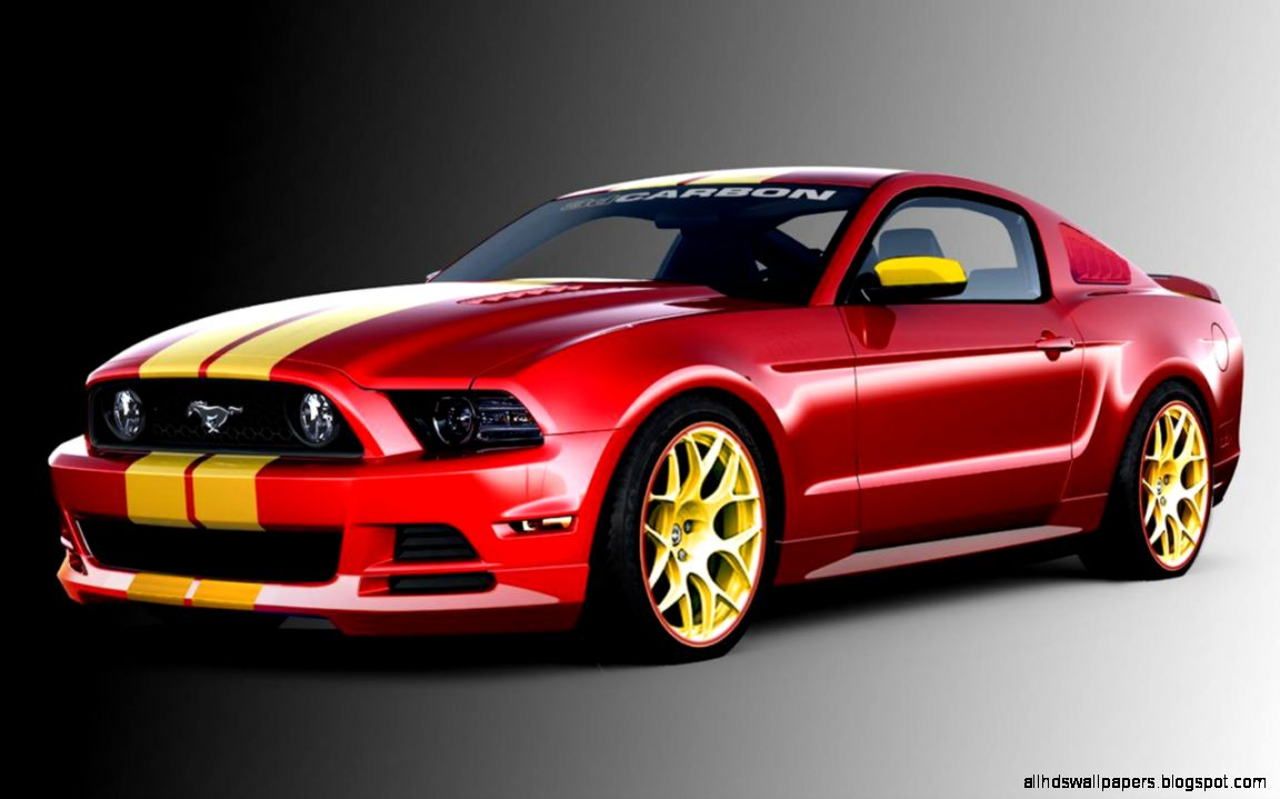 Elegant Red Ford Mustang Cars | All HD Wallpapers