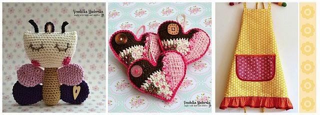 Crochet patterns by Vendula Maderska