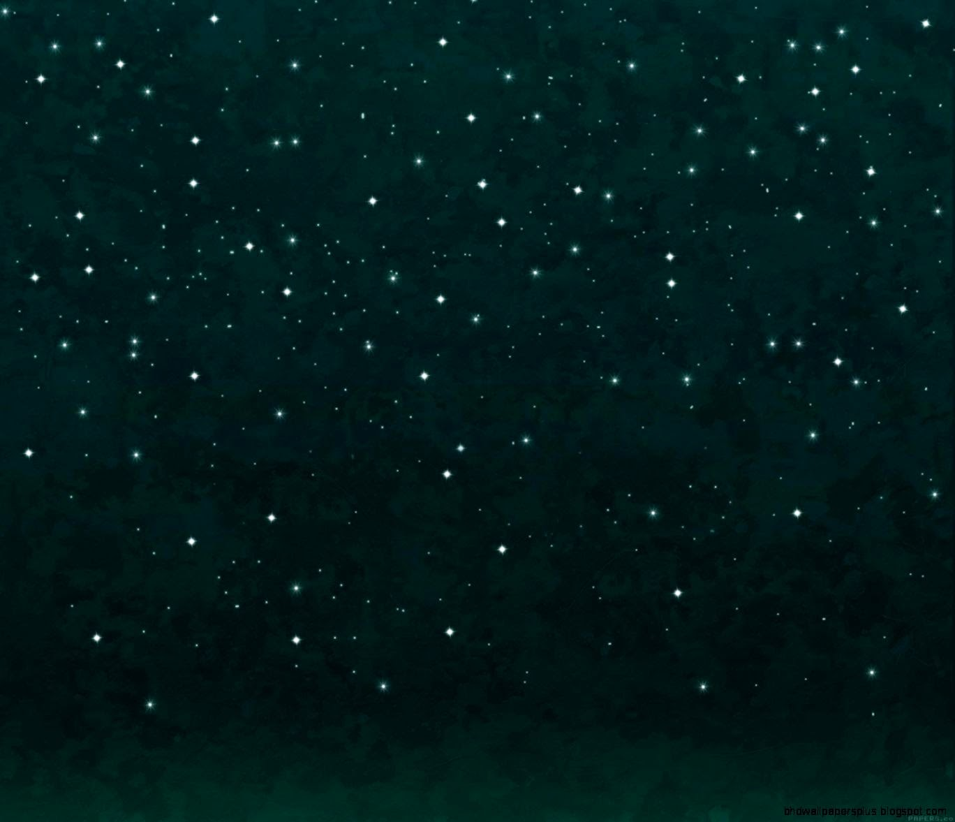 ag19 stars shining green night space art