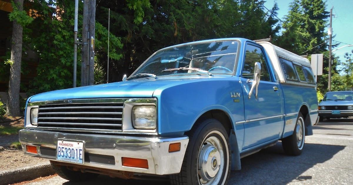 Seattles Parked Cars 1981 Chevrolet Luv Diesel