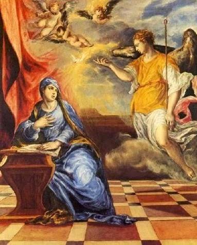 «Ευαγγελισμός» 1576 Ελ Γκρέκο