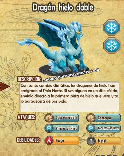 imagen de las caracteristicas del dragon hielo doble