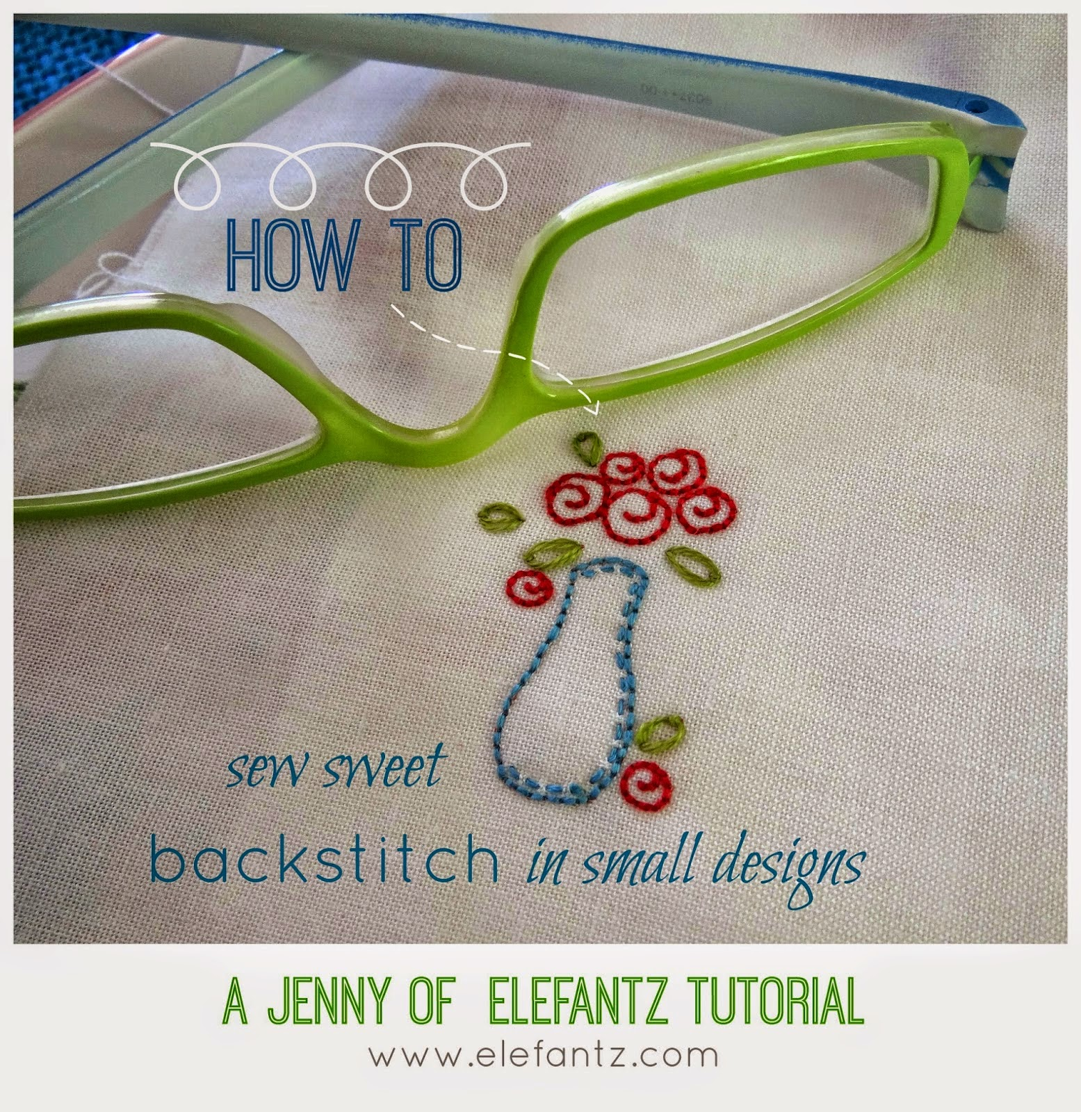 How do I stitch? Watch my detailed tutorial with free project...
