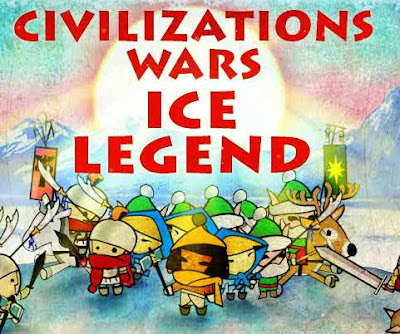 Civilizations Wars Ice Legend walkthrough.