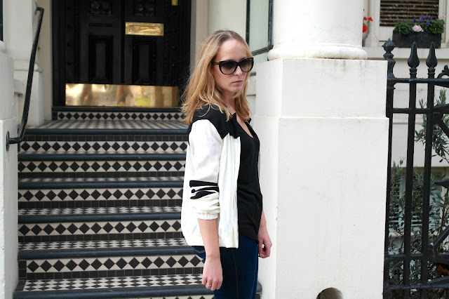 H&M Bomber Jacket by What Laura did Next