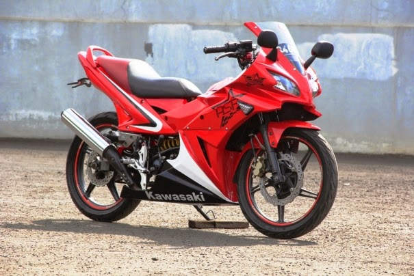 Modifikasi Kawasaki Athlete Full Fairing