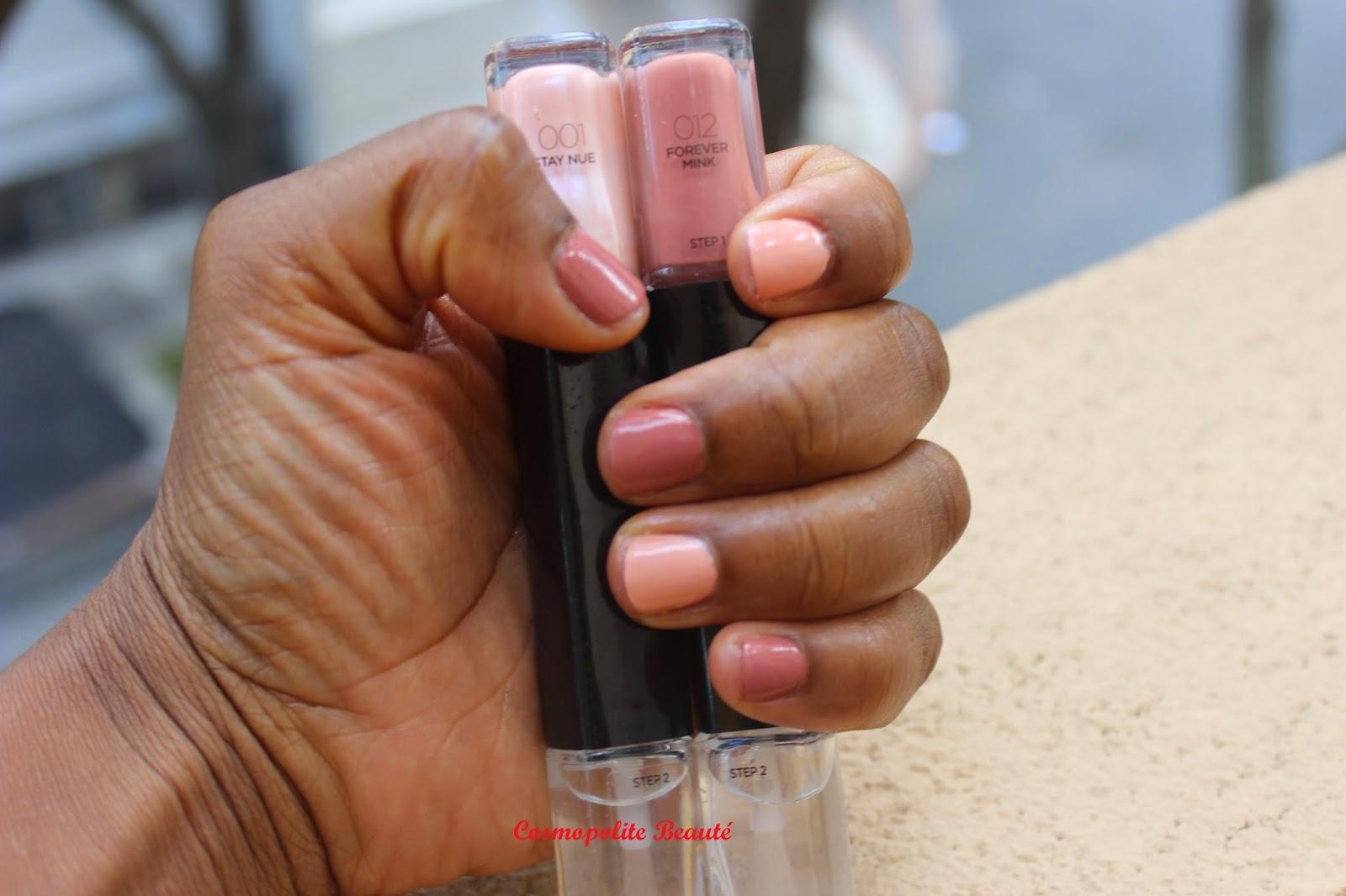 vernis, les Infaillibles gel duo, L'Oréal, tenue 12 jours, nailart
