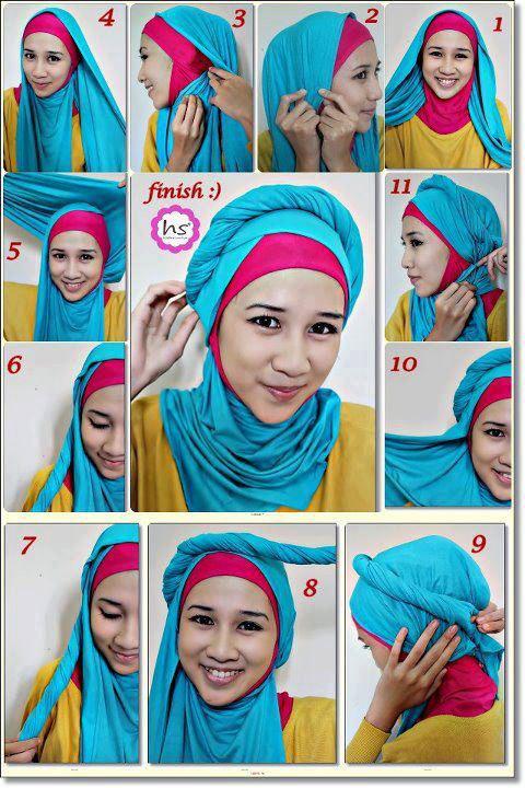 cukup deh buat Cara Memakai Jilbab Modern nya, nanti kalau ada hijab