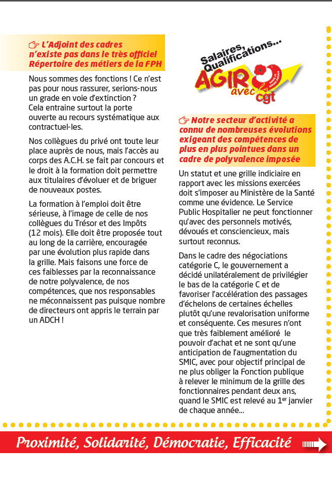 usap cgt tract specifique adjoint des cadres hospitaliers