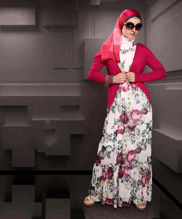 Style: fashion , hijab couleur , style hijab , tendances 2013