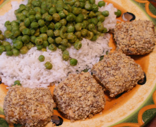 walnut crusted tofu