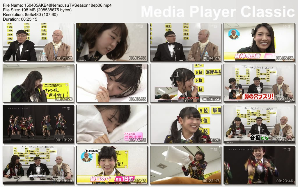AKB48 Nemousu TV Season 18 Episode 6