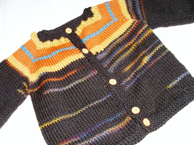 Knitting Top Down Patterns : Toppytoppyknits free knitting pattern top down cardigan