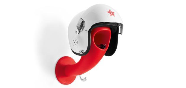 colgador para casco
