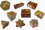 Japanese Puzzle Boxes