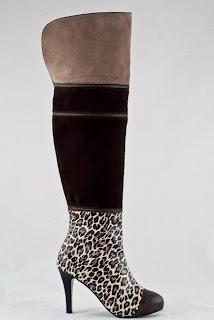 cizme din piele naturala peste genunchi cu toc stiletto