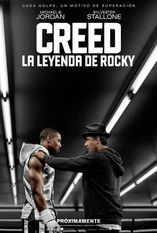 Creed La leyenda de Rocky 2015 DVD Screener Castelleno