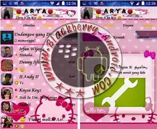 FREE BBM Mod Hello Kitty Versi Terbaru 2.8.0.21 Apk