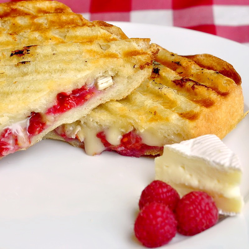 Raspberry Brie Panini - Rock Recipes -The Best Food & Photos from my ...