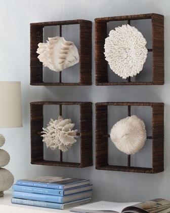 Trazos y telas decora con coral - Zara home cuadros ...