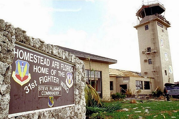 Homestead AFB after Hurricane Andrew