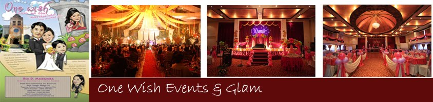 One Wish Events and Glam - Wedding Planner in Metro Manila