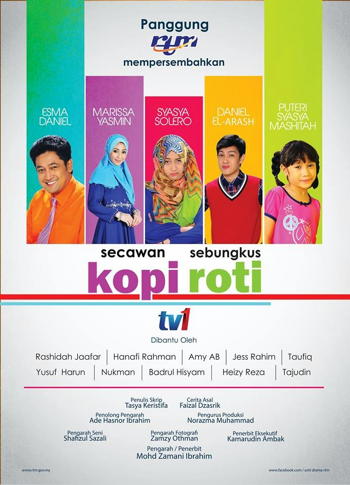 TV Movie SECAWAN KOPI SEBUNGKUS ROTI | Original Idea by Faizal Dzasrik