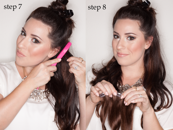 Clip In Hair Extensions Step By Step Guide 79