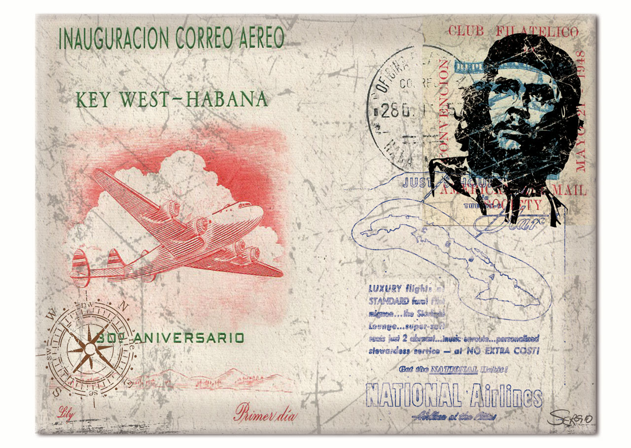 Uberlegen Motiv: Kuba   Key West   Che Guevara Collage