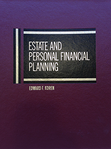 Estate, Tax, and Personal Financial Planning