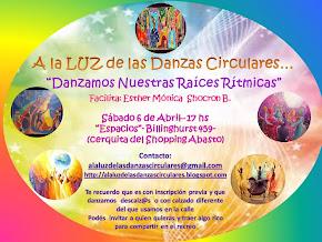 Danzamos Nuestras Raíces Rítmicas - Sábado 6 de Abril en C.A.B.A.
