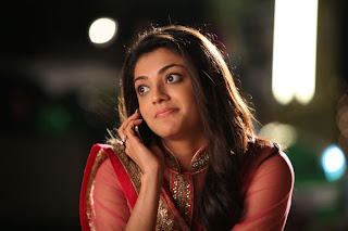 Actress Kajal Agarwal Latest Pictures in Pink Long Dress in Sarocharu Movie  0028
