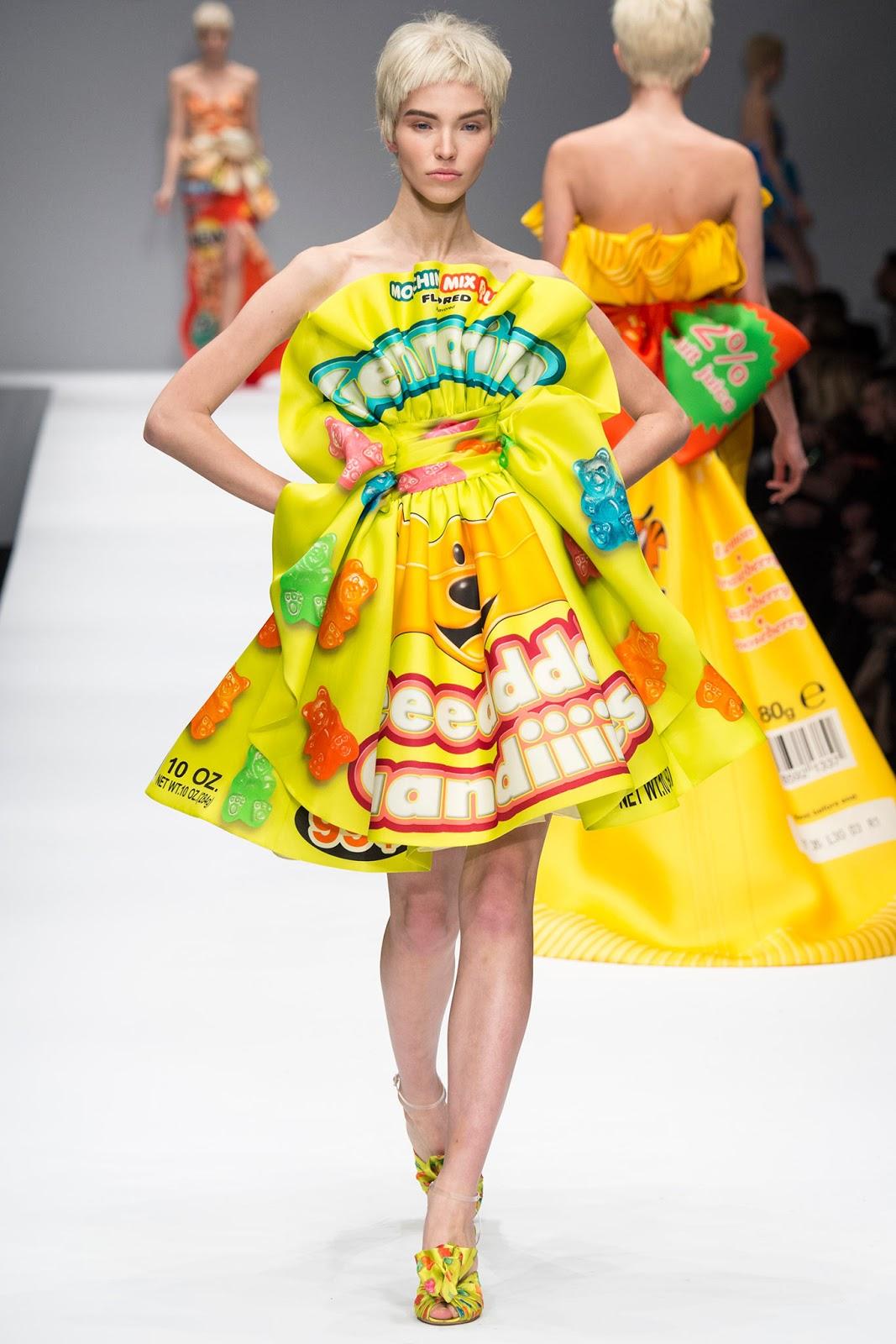 Moschino Fall Winter 2014 fashion show Milan fashion week