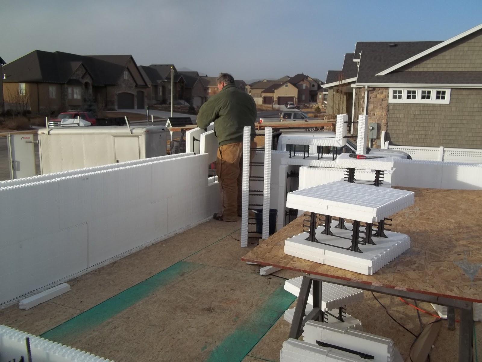 Our Concrete Home Day 106 Garage Flooring Main Floor
