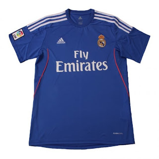 Leaked Jersey Grade Ori Real Madrid Away 13/14