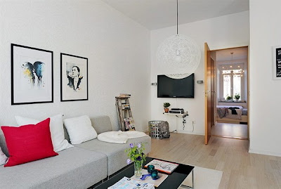 Modern Room Design Apartment in the Heart of Stockholm